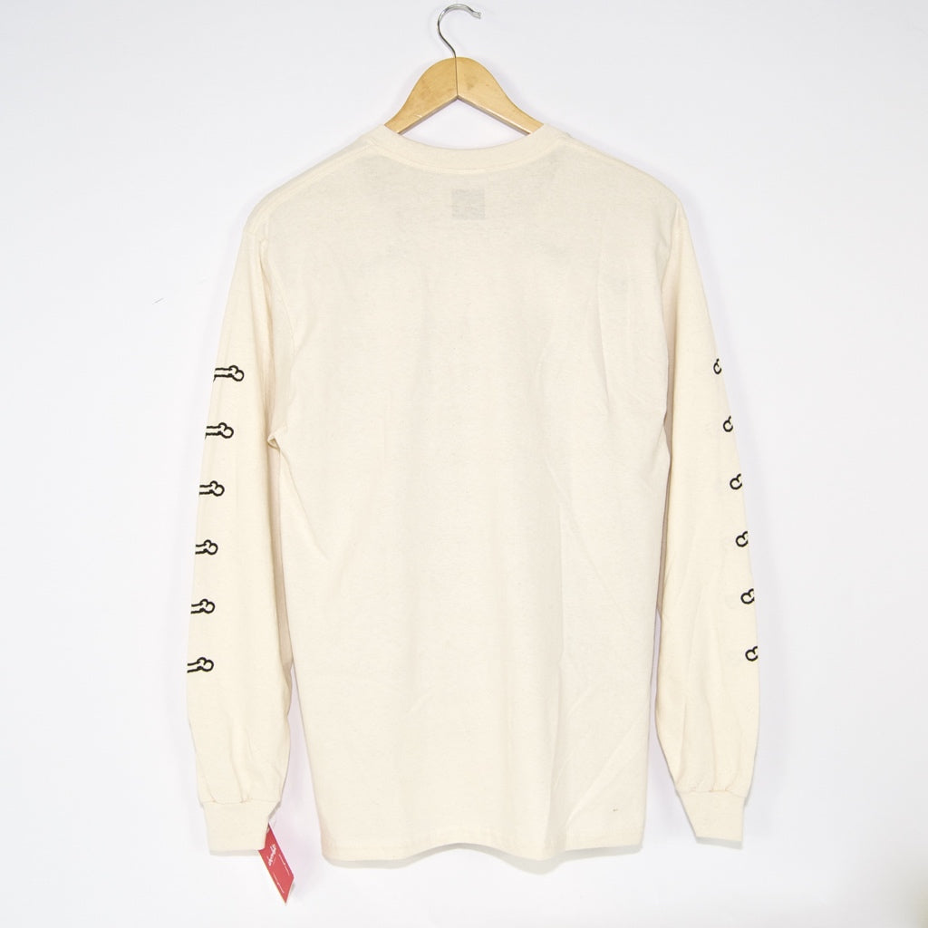 Chocolate Skateboards - Big Dawg Longsleeve T-Shirt - Cream