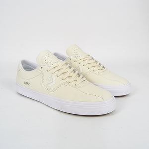 Converse Cons - Louie Lopez Pro Shoes - Egret Leather / White