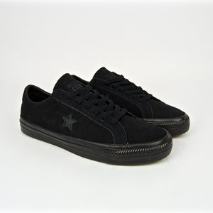 Converse Cons - One Star Pro OX Shoes - Black / Black / Black