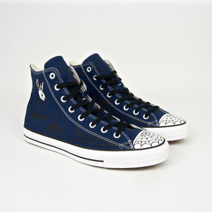 Converse Cons - Sean Pablo CTAS Hi Pro Shoes - Navy / Black / White