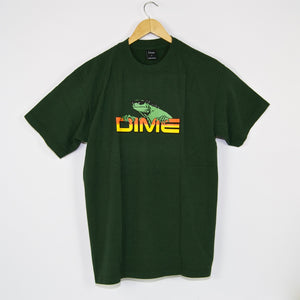 Dime MTL - Lizard T-Shirt - Green