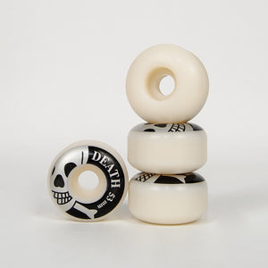Death Skateboards - 53mm (100a) Death Logo Skateboard Wheels
