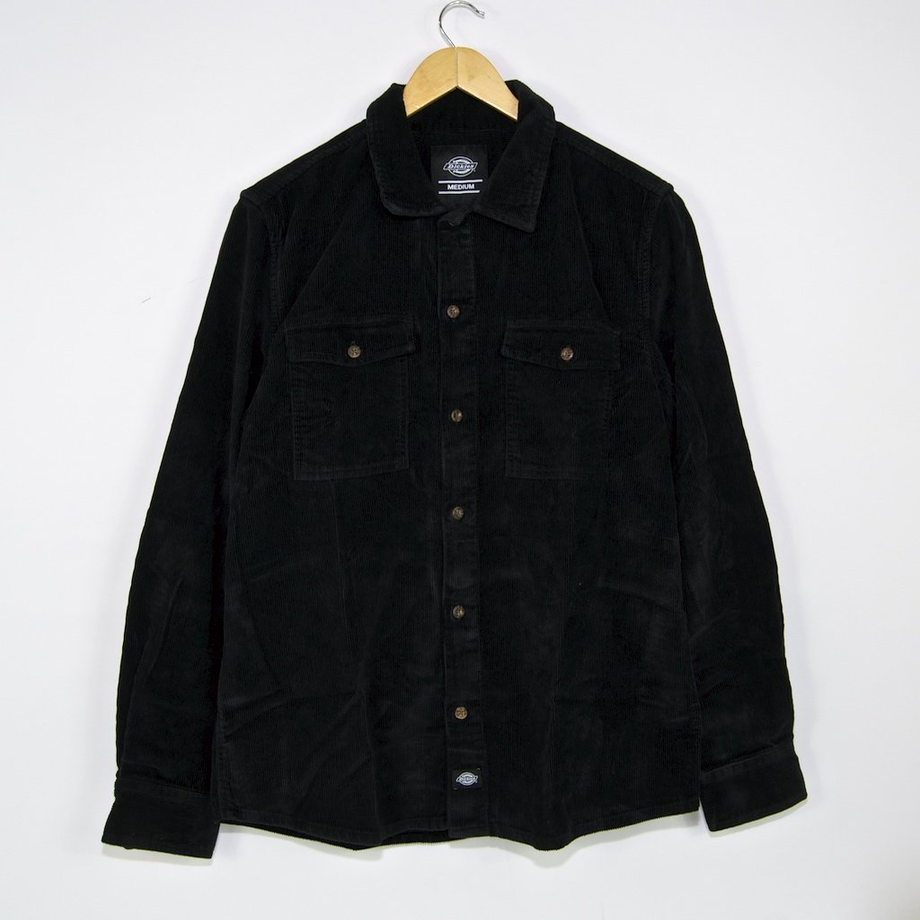 Dickies - Fort Polk Corduroy Shirt - Black