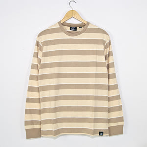 Dickies - Latonia Striped Longsleeve T-Shirt - Sandstone