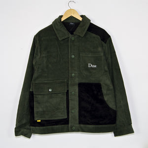 Dime MTL - Corduroy Shirt Jacket - Green