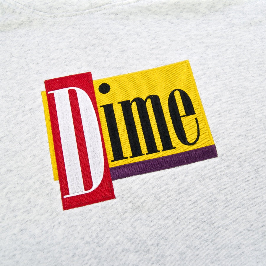 Dime MTL - Diner Pullover Hooded Sweatshirt - Ash Heather