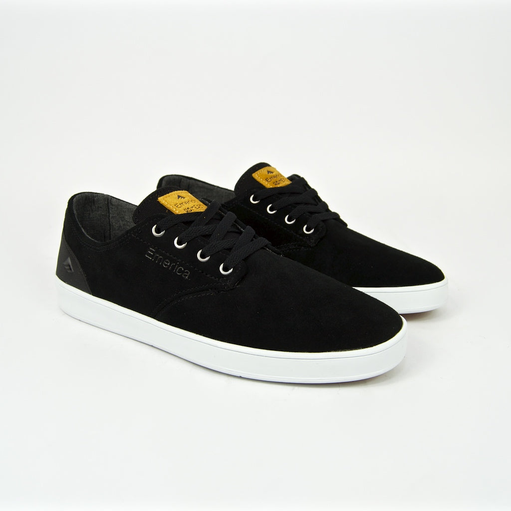 Emerica - Leo Romero Laced Shoes - Black / Black / White