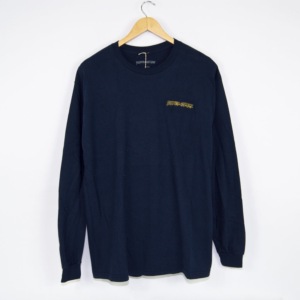 Fucking Awesome - Skynet Longsleeve T-Shirt - Navy