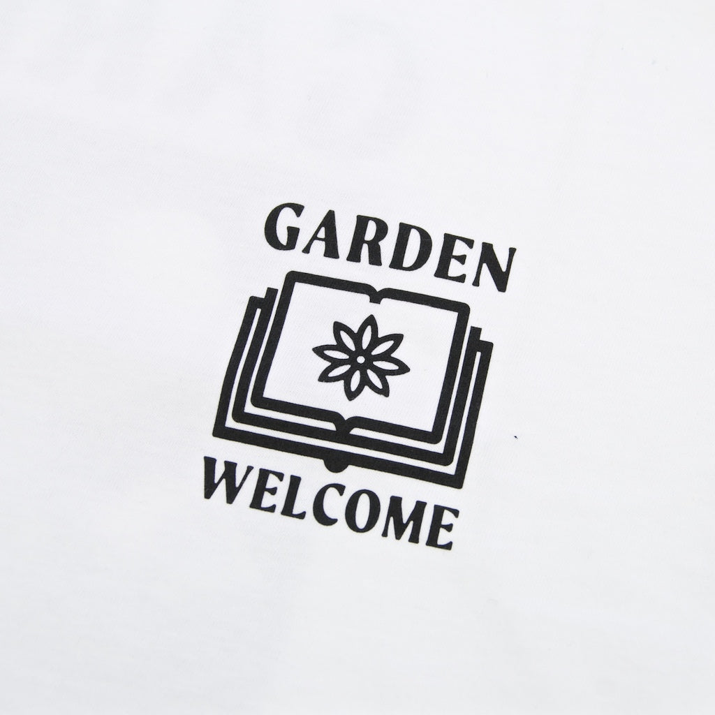 Welcome x Garden Skateboards - Dave T-Shirt - White