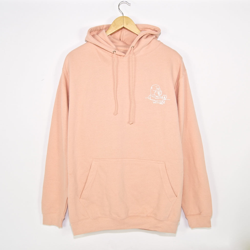 Welcome Skate Store - Gonz Pullover Hooded Sweatshirt - Perfect Peach