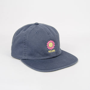 Welcome Skate Store - Goodlife Cap - Washed Navy