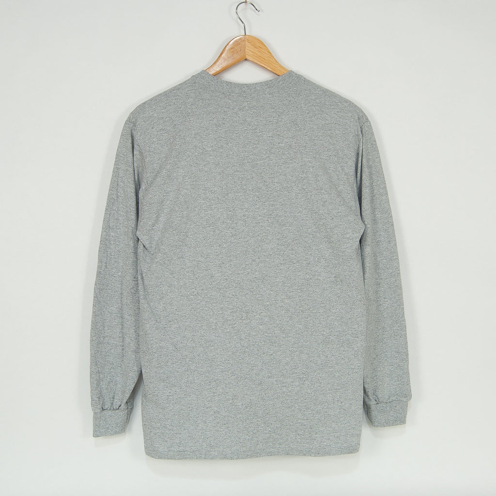 Welcome Skate Store - Goodlife Longsleeve T-Shirt - Sports Grey