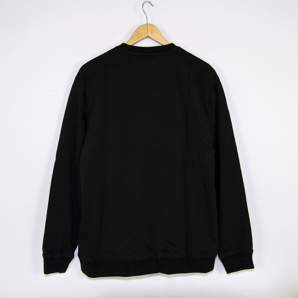 Helas - Rear Crewneck Sweatshirt - Black