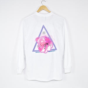 Huf - Forbidden Domain Longsleeve T-Shirt - White
