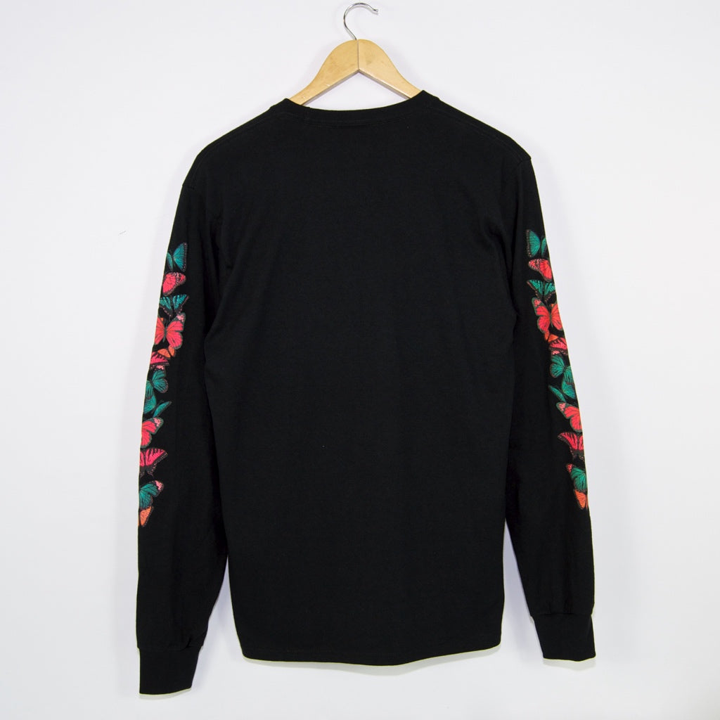 Huf - Monarch Longsleeve T-Shirt - Black
