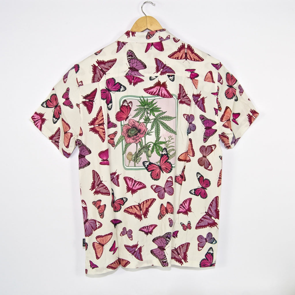 Huf - Papillon Short Sleeve Woven Shirt - Unbleached