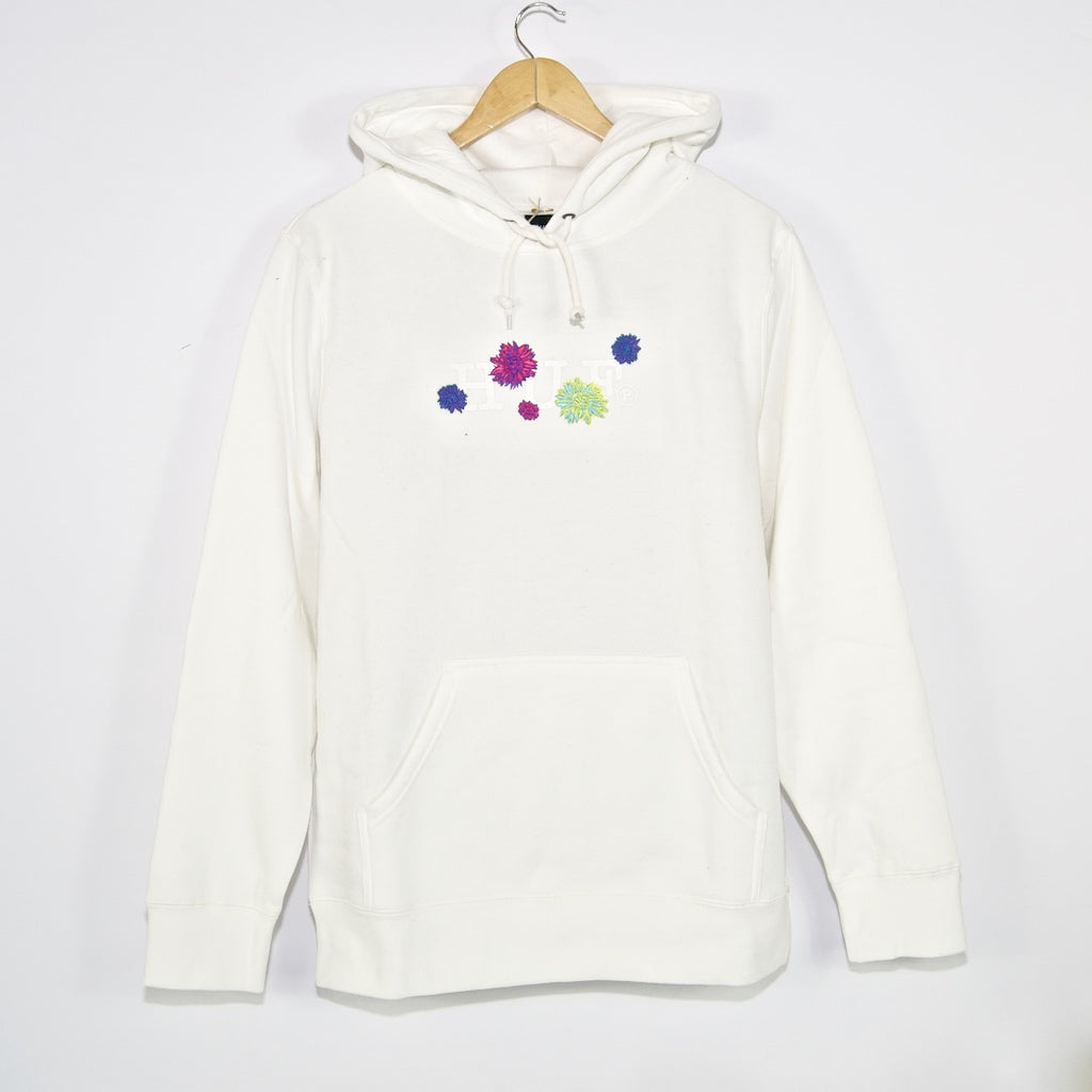 Huf - Psycho Daisies Pullover Hooded Sweatshirt - Unbleached