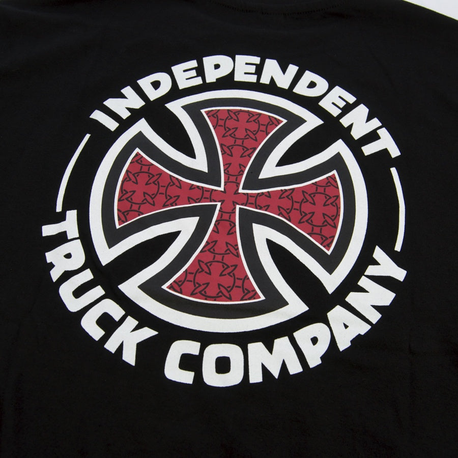 Independent - Repeat Cross Longsleeve T-Shirt - Black