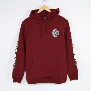 Independent - Shear Pullover Hooded Sweatshirt - Burgundy
