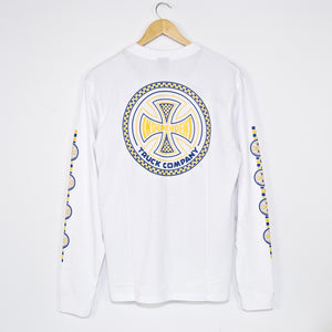 Independent - Tiled Longsleeve T-Shirt - White