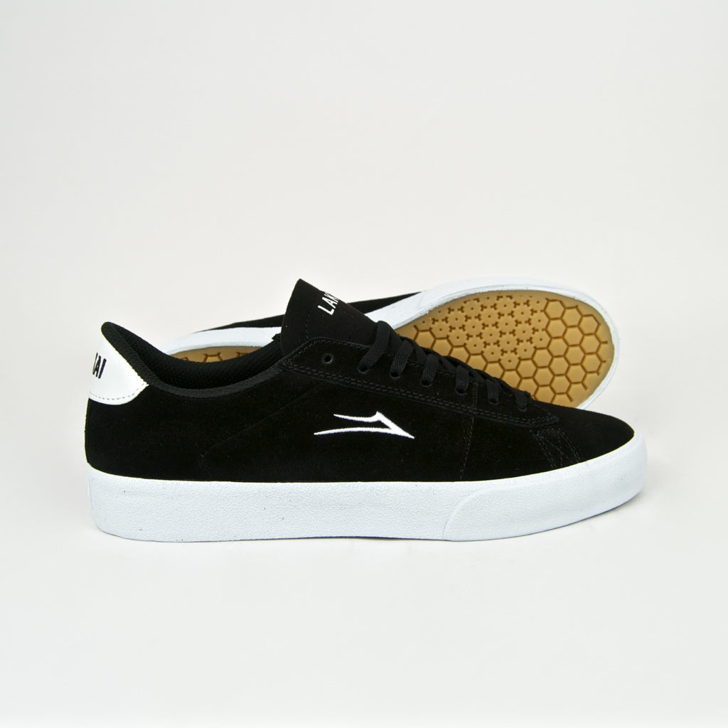 Lakai - Newport Shoes - Black / White