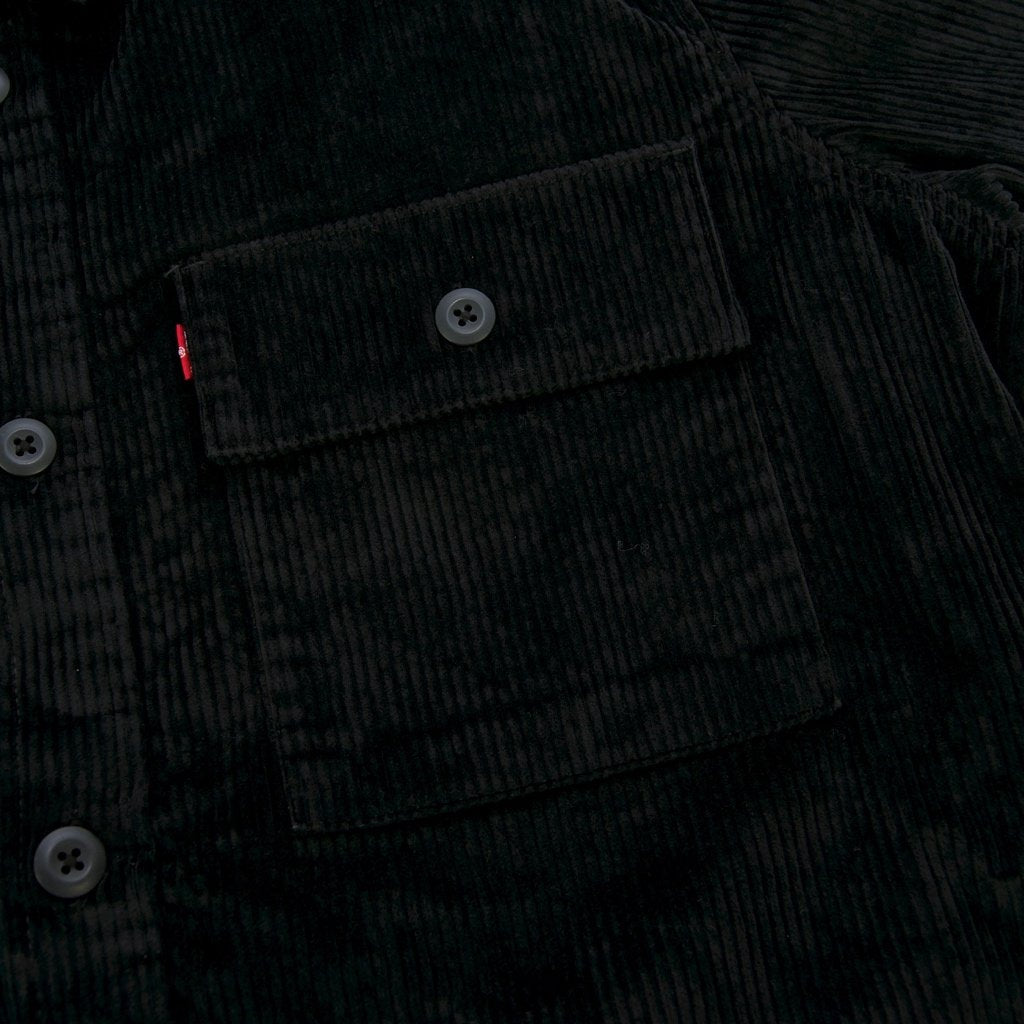 Levi's Skateboarding Collection - Skate Corduroy Overshirt - Jet Black