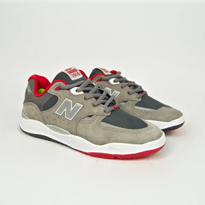 New Balance Numeric - 1010 Tiago Shoes - Grey / Red