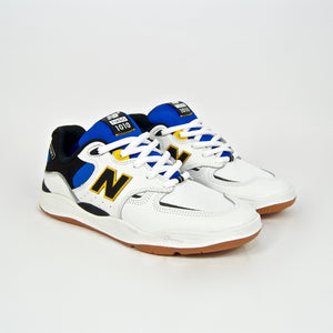 New Balance Numeric - 1010 Tiago Shoes - White / Blue