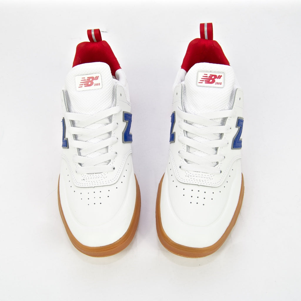 New Balance Numeric - 288 Sport Shoes - White / Royal Blue / Gum