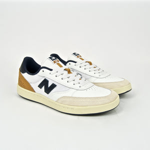 New Balance Numeric - 440 Shoes - White / Navy
