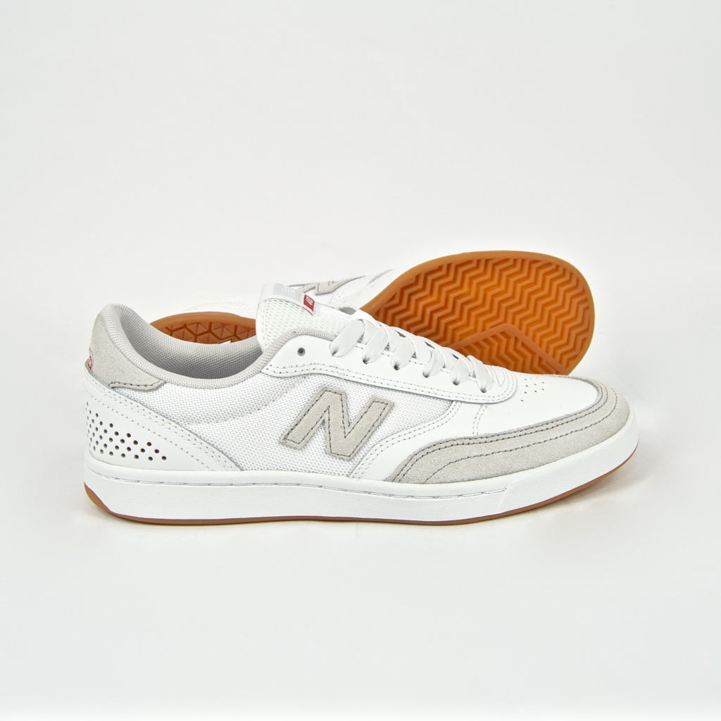 New Balance Numeric - 440 Shoes - White / Red