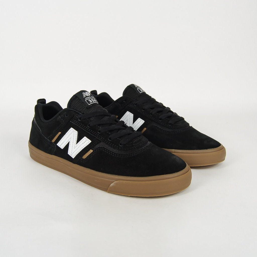 New Balance Numeric - Jamie Foy 306 Shoes - Black / White / Gum
