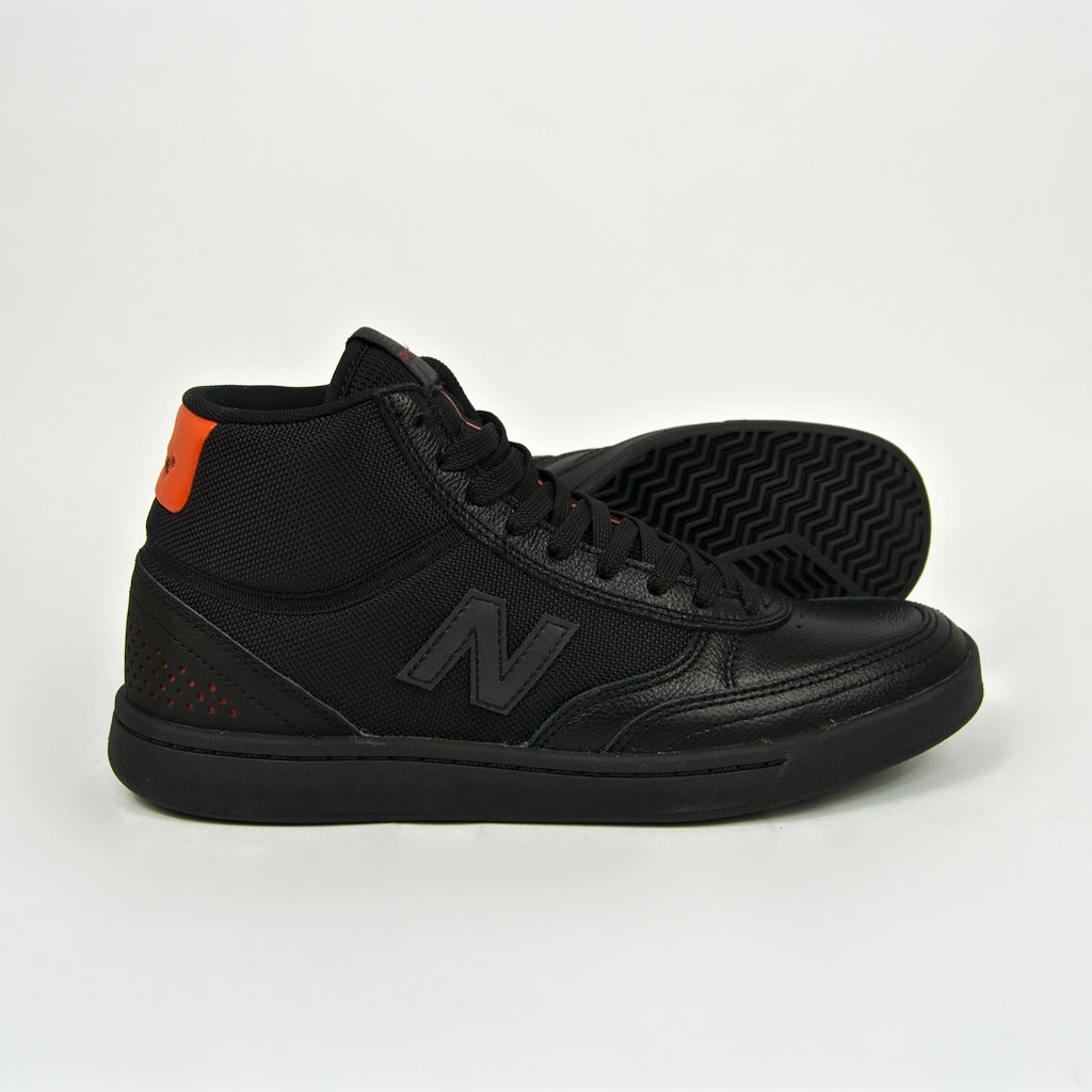 New Balance Numeric - Tom Knox 440 Hi Shoes - Black / Black
