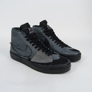 Nike SB - Blazer Mid Edge Shoes - Iron Grey / Black / Black