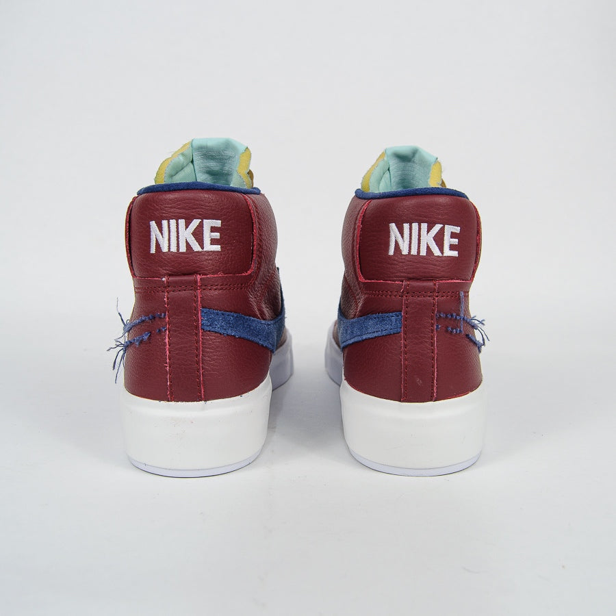Nike SB - Blazer Mid Edge Shoes - Team Red / Navy / Light Dew / Summit White