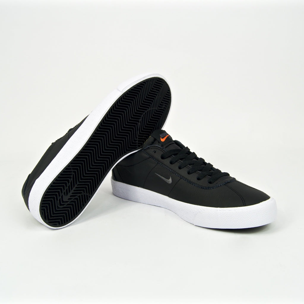 Nike SB - Bruin Orange Label ISO Shoes - Black / Dark Grey / White