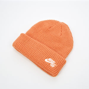 Nike SB - Fisherman Beanie - Healing Orange / White