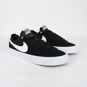 Nike SB - Grant Taylor GT Blazer Low Shoes - Black / White