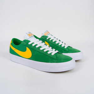 Nike SB - Grant Taylor GT Blazer Low Shoes - Lucky Green / University Gold / White