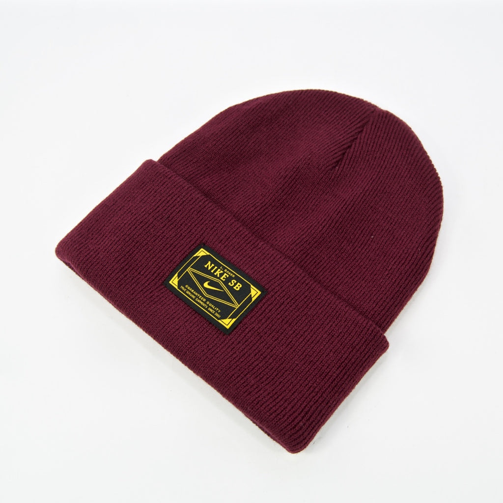 Nike SB - L.Baker Orange Label Skate Beanie - Night Maroon