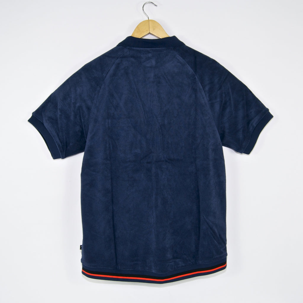 Nike SB - Skate Polo T-Shirt - Midnight Navy / Team Orange