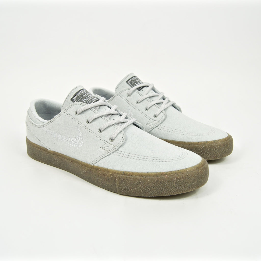 Nike SB - Stefan Janoski Flyleather Remastered Shoes - Pure Platinum
