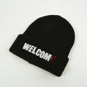 Welcome Skate Store - Noughties Beanie - Black