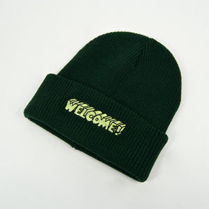 Welcome Skate Store - Noughties Beanie - Green