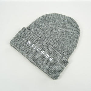 Welcome Skate Store - Noughties Beanie - Grey