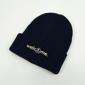 Welcome Skate Store - Noughties Beanie - Navy