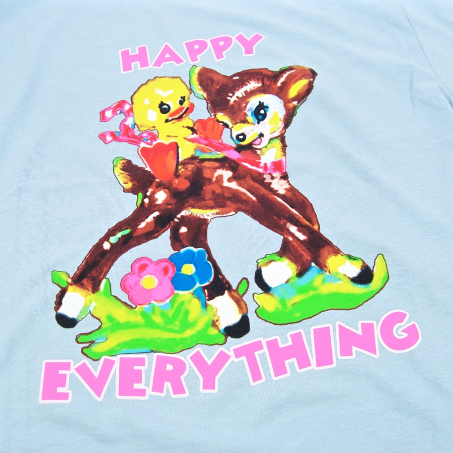 Paradise NYC - Happy Everything T-Shirt - Light Blue