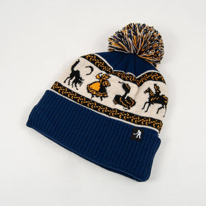 Pass Port Skateboards - Doily Pom Beanie - Navy