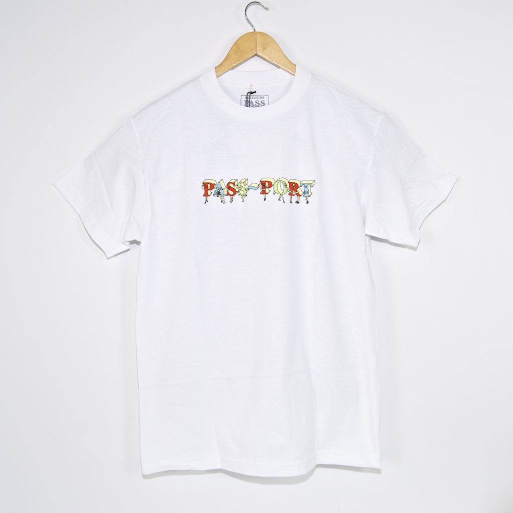 Pass Port Skateboards - PP Gang T-Shirt - White