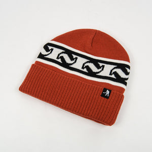 Pass Port Skateboards - Tilde Band Beanie - Rust